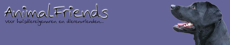 Banner van Animal friends